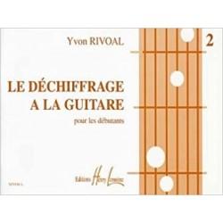 Le déchiffrage à la guitare volume 2 Yvon Rivoal