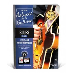 Astuces de la guitare blues avec CD