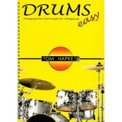 Méthode de batterie Tom Hapke Drums easy