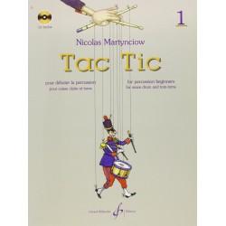 Méthode Tac Tic volume 1 Nicolas Martynciow