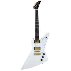 Guitare électrique Tokai EX50 explorer blanche