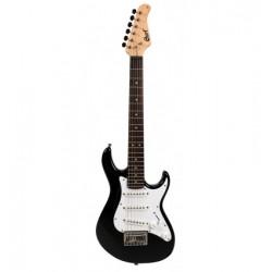 Guitare électrique junior Cort G110JUBBK noire brillante