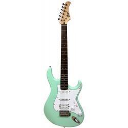 Guitare électrique Cort G110 CGN Caribbean Green