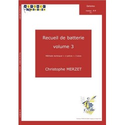 Méthode de batterie Christophe Merzet volume 3