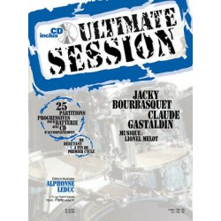 Ultimate session for drums Alphonce Leduc CD