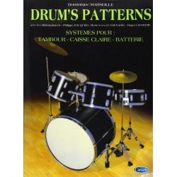 Drums patterns Dominique Marseille