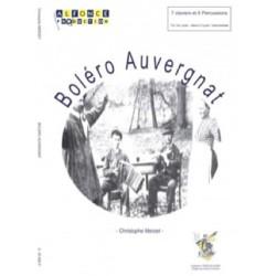 Boléro auvergnat Christophe Merzet Composition pour percussions