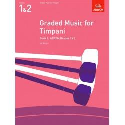 Graded Music For Timpani - Book I Grades 1-2