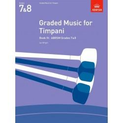 Graded Music for Timpani Book IV grade 7-8
