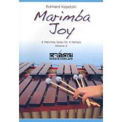 Marimba joy band volume 2 Eckhard Kopetzki
