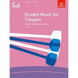Graded Music for Timpani Book III grade 5-6