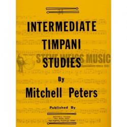 Intermediate timpani Studies Mitchell Peters