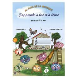 J'apprends le piano 4-7 ans LASKRI Djamila / PAPAZIAN Christine