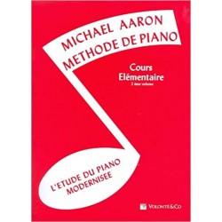 Méthode de piano Michael Aaron volume 2 cours élémentaires