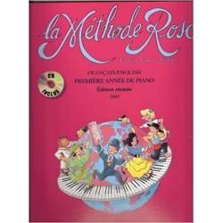 La Méthode Rose 1ère année avec CD - Van De Velde