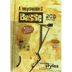 Encyclopédie de la Basse Partition+CD pour guitare basse