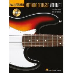 Méthode de basse Hal Leonard voume 1
