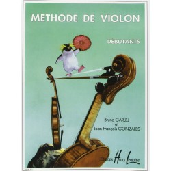 Méthode de violon volume 1 Garlej Gonzales