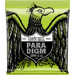 Cordes de guitare électrique Ernie Ball Paradigm regular 10-46