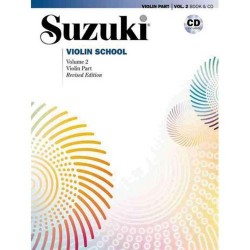 Méthode Suzuki Violin School volume 2 CD