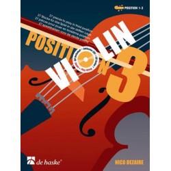 Méthode Violin Position 3 Nico Dezaire