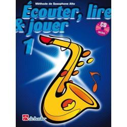 Ecouter lire & jouer Saxophone volume 1 CD