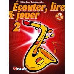 Ecouter lire jouer saxophone alto volume 2 De Haske