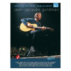 Jean Jacques Goldman spécial guitare tablature volume 2