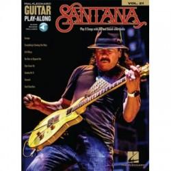 Santana Guitar play along Volume 21