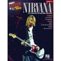 Nirvana Easy Guitar Play-Along Volume 11