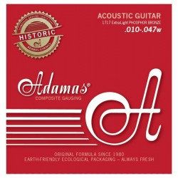 Cordes guitare folk Phosphore Bronze Adamas 1717E extra light