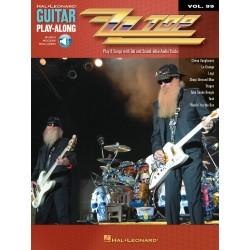 Guitar play along ZZtop Volume 99 Tab CD