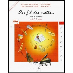 Au fil des notes volume 1 Billaudot