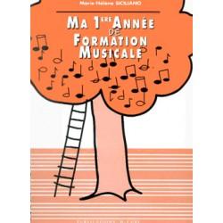 Ma première année de formation musicale - Marie Helene Siciliano