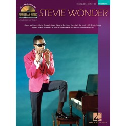 Stevie Wonder Piano Play-Along Volume 111