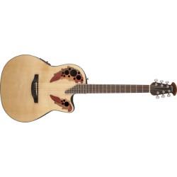 Guitare folk électro-acoustique Ovation Celebrity CE44-4 naturelle