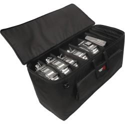 Housse spéciale batterie électronique à roulettes Gator GP-EKIT3616-BW