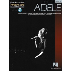 PIANO PLAY ALONG VOLUME 118 ADELE PF BK/CD