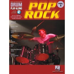 Drum Play Along Pop rock volume 1 CD
