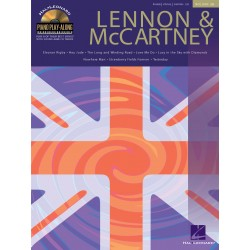 Lennon & McCartney Piano Play-Along Volume 28
