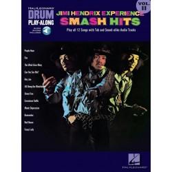 Drum play along Jimi Hendrix Smash Hits
