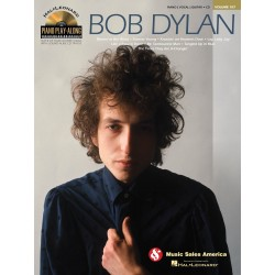 Bob Dylan Piano Play-Along Volume 107