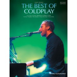 The best of Coldplay for easy piano