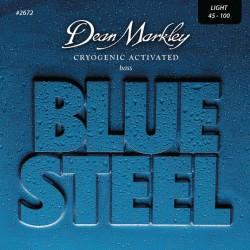 Cordes de basse Dean Markley Blue steel 45-100