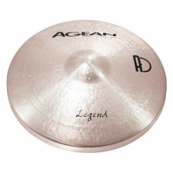 Paire de Hi-hats Agean Legend Rock 14 pouces