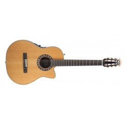 Ovation Guitare électroacoustique classique Legend Mid Cutaway Nylon