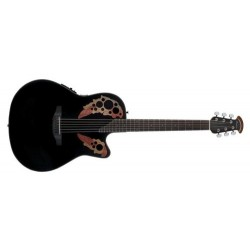 Guitare électro-acoustique Ovation Celebrity CE44-5 Gloss Black