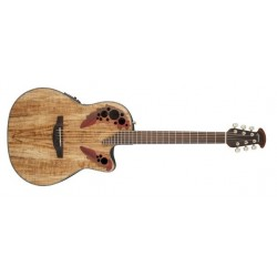 Guitare électro-acoustique Ovation Celebrity elite CE44P-SP Spalted Maple
