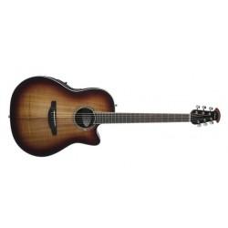Guitare électro-acoustique Ovation Celebrity Koa Burst CS28P-KOAB super shallow