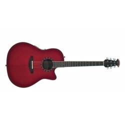 Guitare électro-acoustique Ovation Baladeer Cherry Burst 2771AX-CCB Deep Bowl